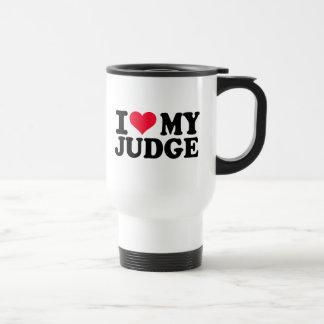 私は私の裁判官を愛します トラベルマグ
