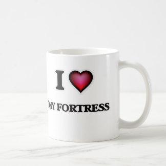 私は私の要塞を愛します コーヒーマグカップ