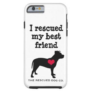 私は私の親友-ピット・ブルのiPhone6ケース--を救助しました ケース