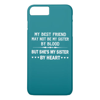私は私の親友-私の姉妹--を愛します iPhone 8 PLUS/7 PLUSケース