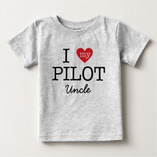 私は私の試験叔父さんを愛します ベビーTシャツ