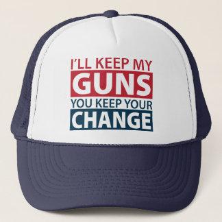 私は私の銃、保ちますあなたの変更を保ちます キャップ