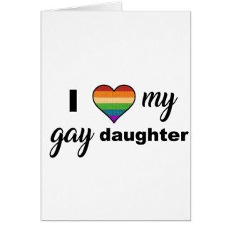 私は私の陽気な娘を愛します カード