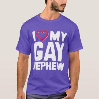 私は私の陽気な甥を愛します- - Tシャツ