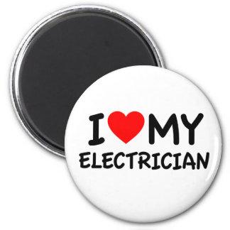私は私の電気技師を愛します マグネット