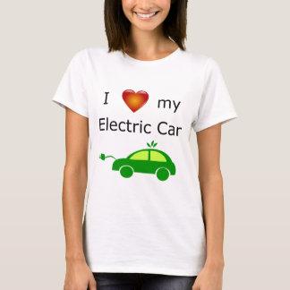 私は私の電気自動車を愛します Tシャツ