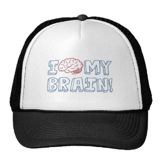 私は私の頭脳を愛します キャップ