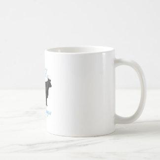 私は私の黒いアンガスを愛します コーヒーマグカップ