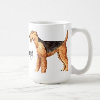 私は私のAiredaleを愛します コーヒーマグカップ