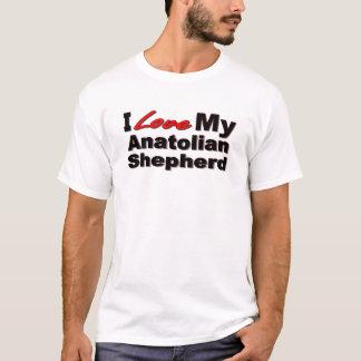 私は私のAnatolian羊飼いの商品を愛します Tシャツ