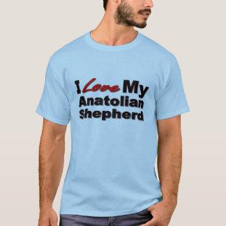 私は私のAnatolian羊飼いを愛します Tシャツ