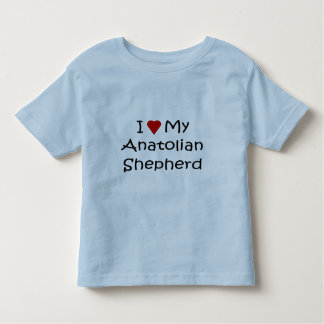私は私のAnatolian羊飼い犬の恋人のワイシャツを愛します トドラーTシャツ