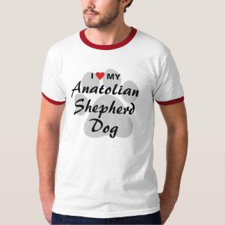 私は私のAnatolian羊飼い犬を愛します Tシャツ