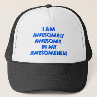 私は私のawesomeness.で驚くばかりに素晴らしいです キャップ