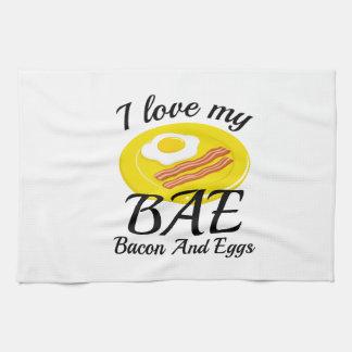 私は私のBAEを愛します キッチンタオル