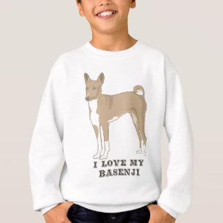 私は私のBasenjiを愛します スウェットシャツ