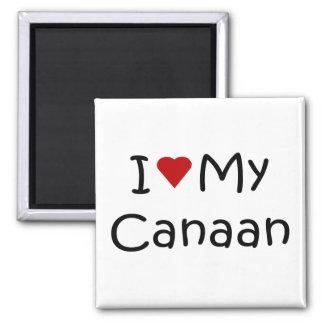 私は私のCanaan犬の品種恋人のギフトを愛します マグネット
