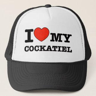 私は私のcockatielを愛します キャップ