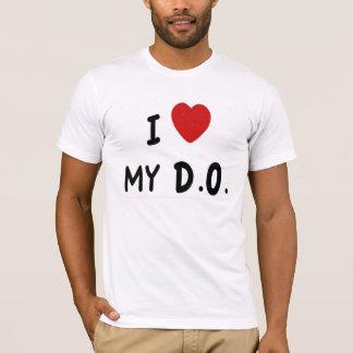 私は私のD.O.を愛します Tシャツ