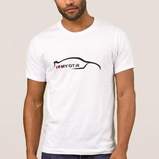 私は私のGTRを愛します Tシャツ