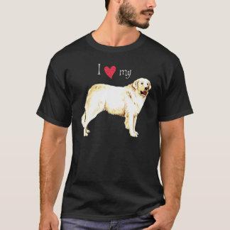 私は私のKuvaszを愛します Tシャツ