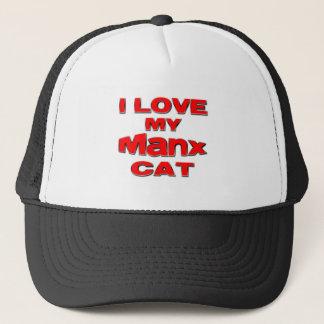 私は私のMANX CAT rdを愛します キャップ
