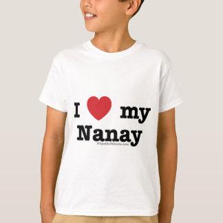 私は私のNanayを愛します Tシャツ