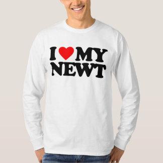 私は私のNEWTを愛します Tシャツ