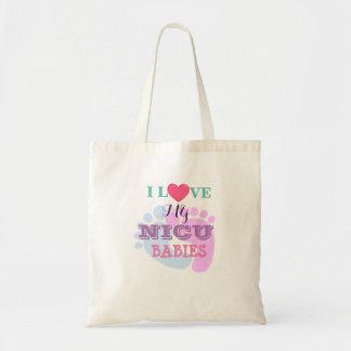 私は私のNICUのベビーの予算のトートを愛します トートバッグ