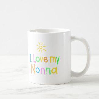私は私のNonnaを愛します コーヒーマグカップ