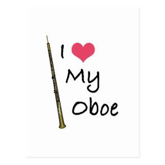 私は私のOboeを愛します ポストカード