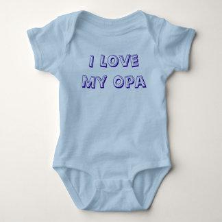 私は私のOpaの乳児のクリーパーを愛します ベビーボディスーツ