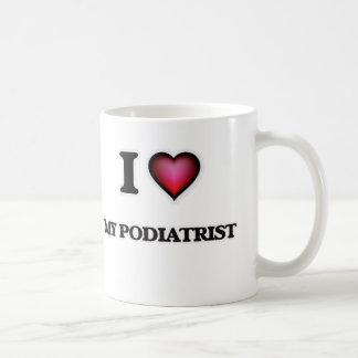 私は私のPodiatristを愛します コーヒーマグカップ