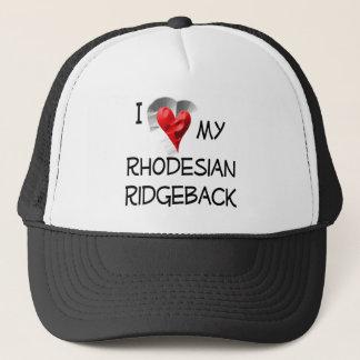 私は私のRhodesian Ridgebackを愛します キャップ