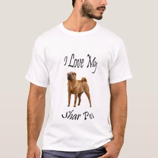 私は私のShar Peiを愛します Tシャツ