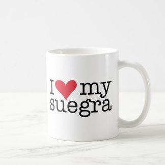 私は私のSuegra (義母)のコーヒーカップを愛します コーヒーマグカップ