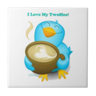 私は私のTwoffeeのTwitterの鳥のタイルを愛します タイル