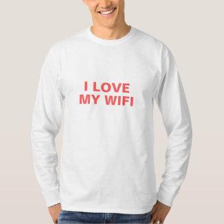 私は私のWifiを愛します Tシャツ