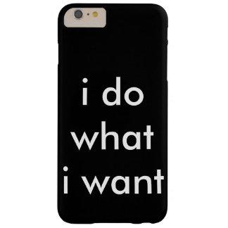 私は私はほしいと思うものがします BARELY THERE iPhone 6 PLUS ケース