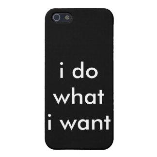 私は私はほしいと思うものがします iPhone 5 ケース
