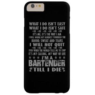 私は私までバーテンダー死にますです BARELY THERE iPhone 6 PLUS ケース