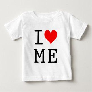 私は私をデザイン愛します ベビーTシャツ