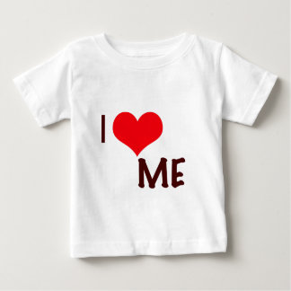 私は私を愛します ベビーTシャツ