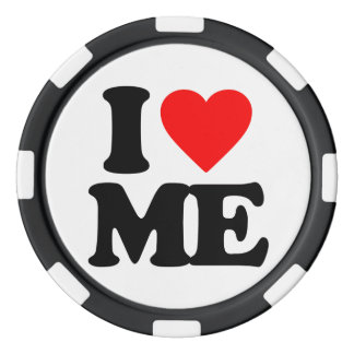 私は私を愛します ポーカーチップ