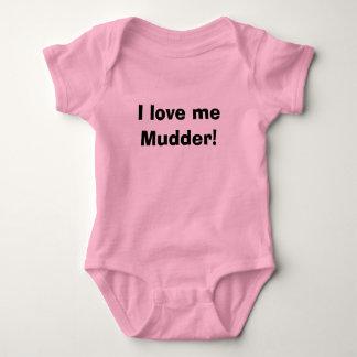 私は私をMudder愛します! ベビーボディスーツ