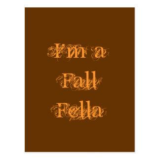 私は秋の農夫です。 秋 ポストカード