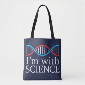 私は科学のスタンプの効果とあります トートバッグ