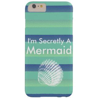 私は秘密に人魚の電子工学の例です iPhone 6 PLUS ベアリーゼアケース