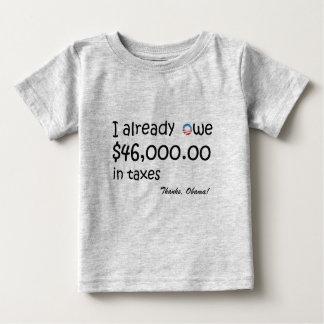 私は税の$46,000を負います ベビーTシャツ