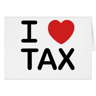 私は税を愛します カード
